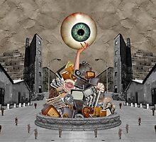 1984; digital collage by Julia Major