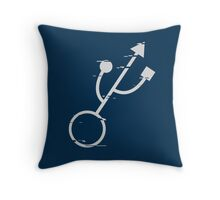 Gamer (Distorted version)  Throw Pillow