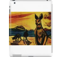 Kangas on beach iPad Case/Skin