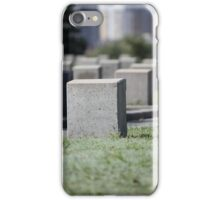 Unknown soldier monument iPhone Case/Skin