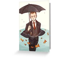 Living in a world of goldfish Greeting Card