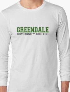 GREENDALE College Jersey Long Sleeve T-Shirt