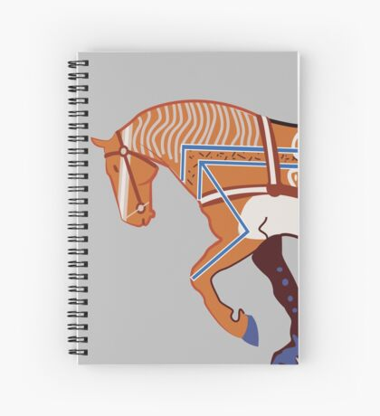 Redcliffe Horse Spiral Notebook