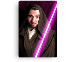 Jedi Jev Canvas Print