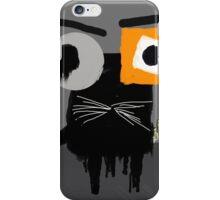 GATO NEGRO iPhone Case/Skin
