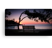 Missing You - Alma Bay Canvas Print