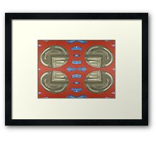 ABSTRACT 225 Framed Print