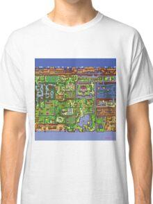 Zelda - Link's awakening world map Classic T-Shirt
