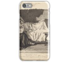 William Small,  During my restless fits she would sometimes read to me several hours together iPhone Case/Skin