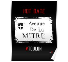 Toulon city Mitre forever Poster