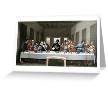 Snoop Dogg Last Supper Greeting Card
