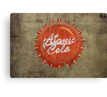 Atomic Cola Canvas Print