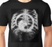 Alien Chest Burster X-Ray Unisex T-Shirt