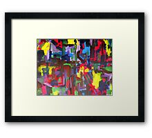 ABSTRACT 401 Framed Print