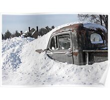 Snow Yard  Poster