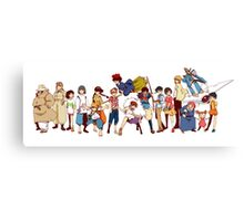 Team Ghibli - Studio Ghibli Canvas Print