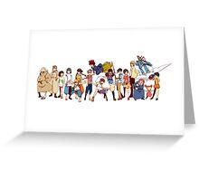 Team Ghibli - Studio Ghibli Greeting Card