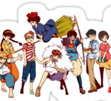Team Ghibli - Studio Ghibli Sticker