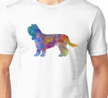 Grand Basset Griffon Vendeen in watercolor Unisex T-Shirt