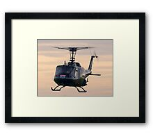 Huey Helicopter Framed Print