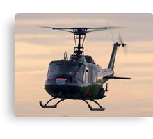 Huey Helicopter Canvas Print