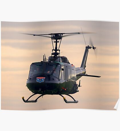 Huey Helicopter Poster
