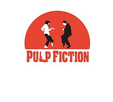 Pulp fiction Dance by theredcosmonaut