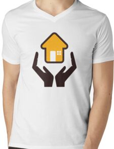 secure your home Mens V-Neck T-Shirt