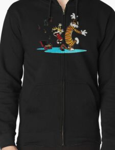Calvin and Hobbes Funny T-Shirt