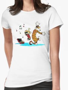 Calvin and Hobbes Funny Womens T-Shirt