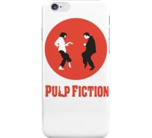Pulp fiction Dance iPhone Case/Skin