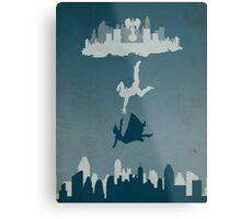 Bioshock Infinate - Solid Background Metal Print