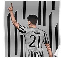 Paulo Dybala Poster