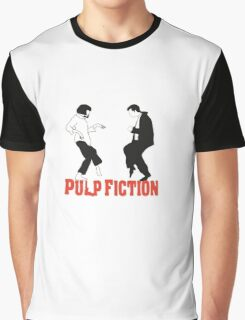 Pulp fiction Dance Graphic T-Shirt
