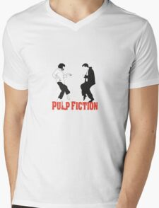 Pulp fiction Dance Mens V-Neck T-Shirt