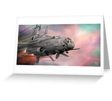 Reaching Escape Velocity  Greeting Card