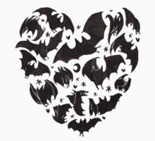 Bat Heart T-Shirt