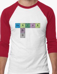NERD GENIUS!GENUIS NERD - Perodic Table Scrabble T-Shirt