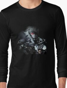 Metal Gear Solid Raiden Long Sleeve T-Shirt