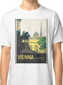 Vintage Travel Poster - Vienna Classic T-Shirt