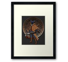 Fear the blood. Framed Print