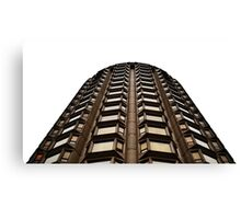 Modernist hotel in central london Canvas Print