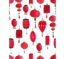 Paper Lanterns Photographic Print