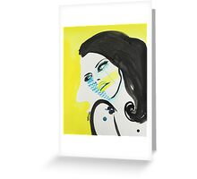 Pop In Yellow Greeting Card