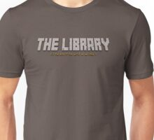 the library- it's the end of the world Unisex T-Shirt