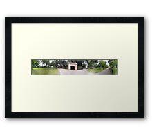 Fort Canning Framed Print