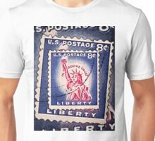 Statue of Liberty Collage Unisex T-Shirt