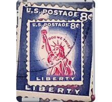 Statue of Liberty Collage iPad Case/Skin