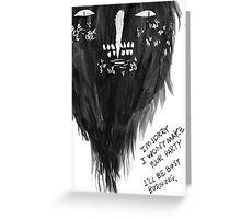 Keaton Henson - Gloaming Greeting Card