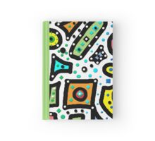 Abstract n Dots Hardcover Journal
